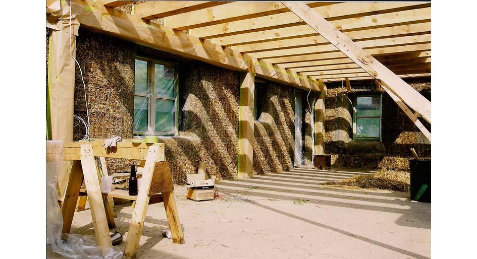 Straw Bale Building - Harvest Homes