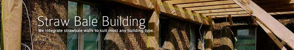 We integrate strawbale walls to suit most any building type